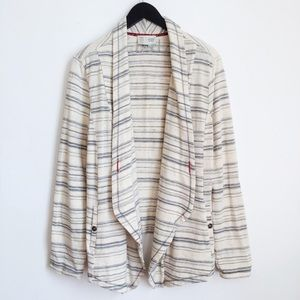 Anthropologie Saturday Sunday striped cardigan
